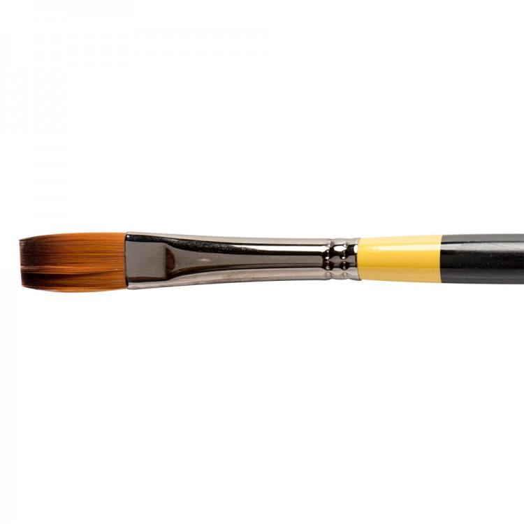 Daler Rowney : System 3 : Acrylic Brush : Sy44 Lh Flat : 8