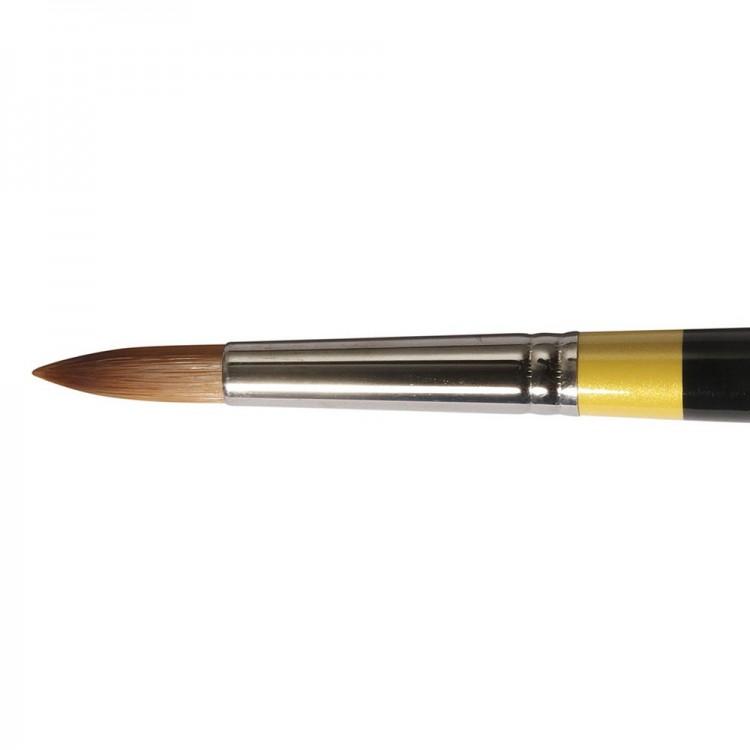 Daler Rowney : System 3 : Acrylic Brush : Sy45 Lh Round : 8