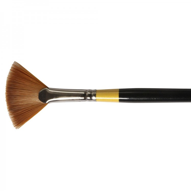 Daler Rowney : System 3 : Acrylic Brush : Sy46 Lh Fan : 4