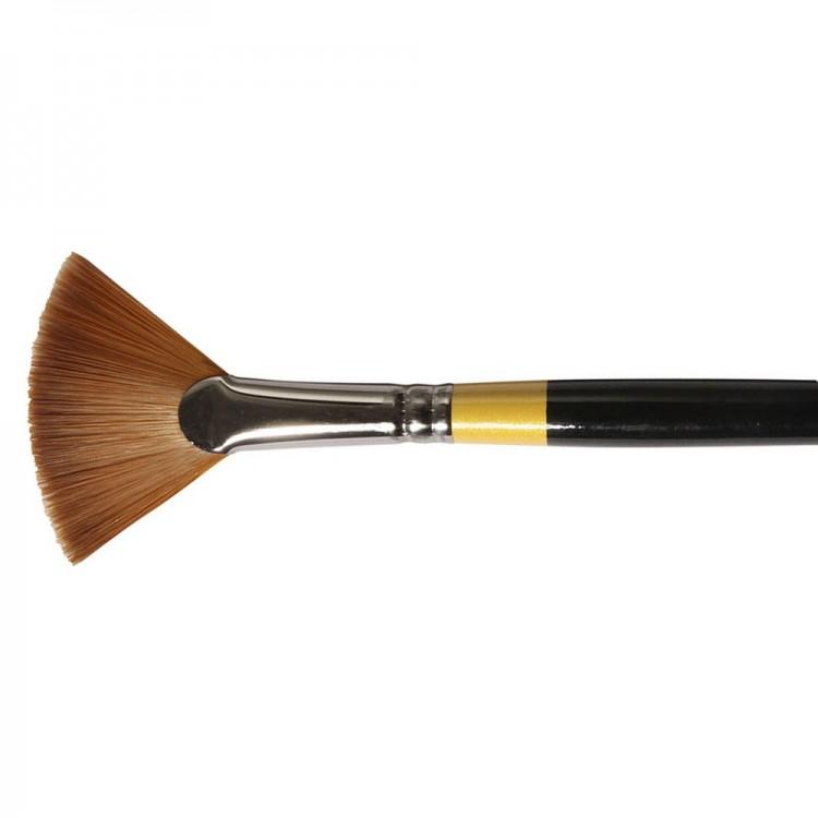 Daler Rowney : System 3 : Acrylic Brush : Sy46 Lh Fan : 6