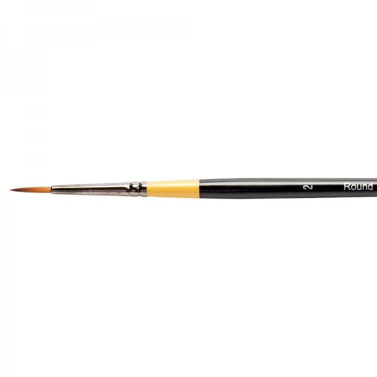 Daler Rowney : System 3 : Acrylic Brush : Sy85 Sh Round : 2