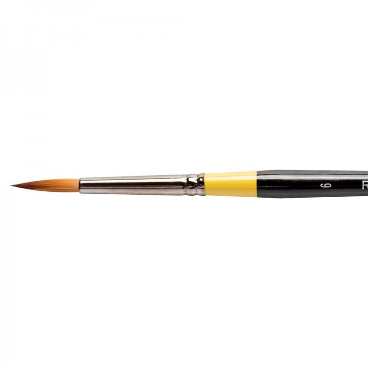 Daler Rowney : System 3 : Acrylic Brush : Sy85 Sh Round : 6
