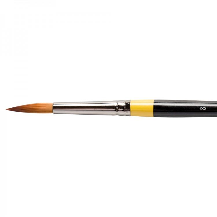 Daler Rowney : System 3 : Acrylic Brush : Sy85 Sh Round : 8