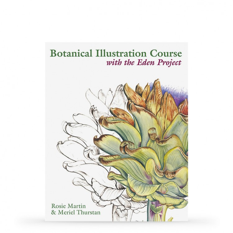 Botanical Illustration Course with the Eden Project PAPERBACK : Book by Rosie Martin & Meriel Thurstan