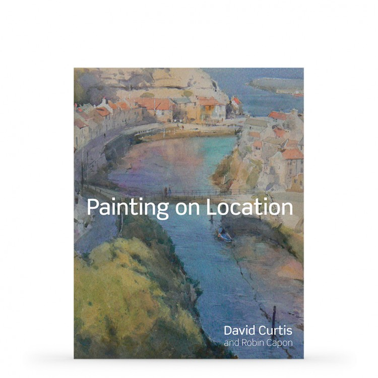 Painting on Location : Book by David Curtis and Robin Capon