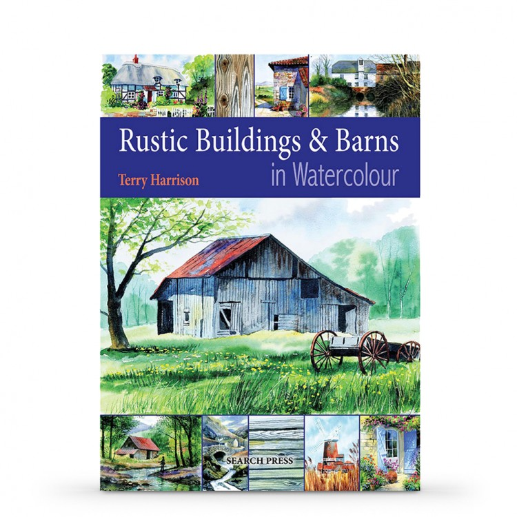 Rustic Buildings & Barns in Watercolour : Book by Terry Harrison