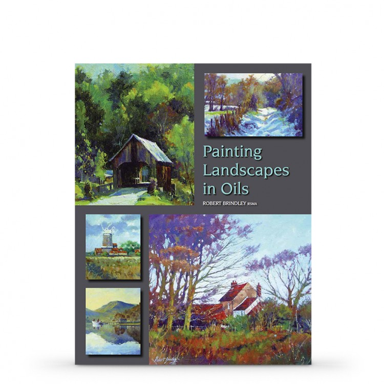 Painting Landscapes in Oils Book by Robert Brindley