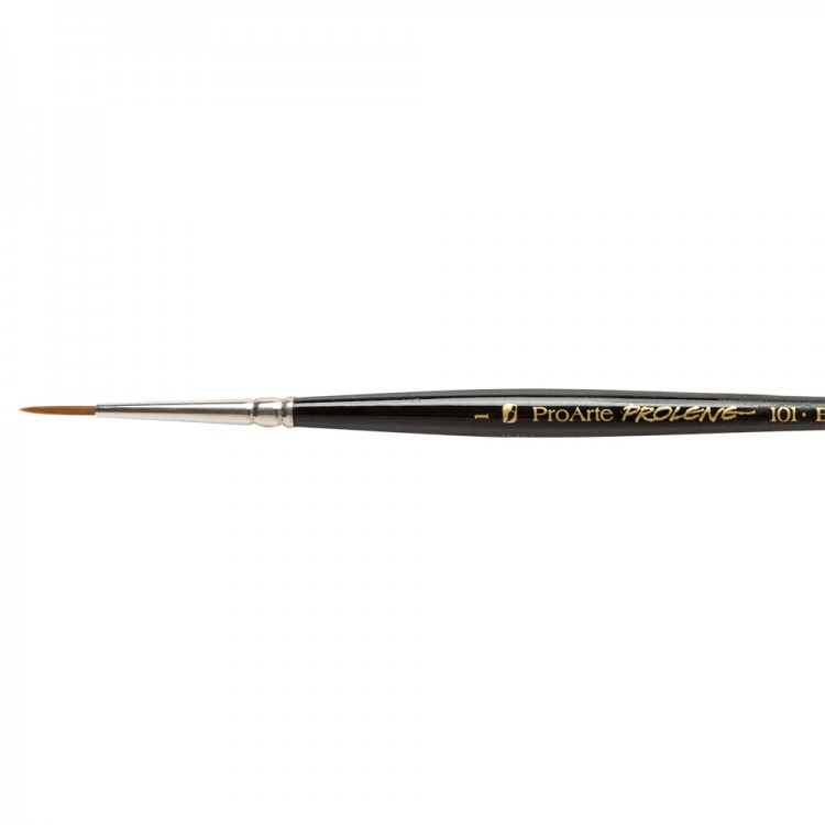 Pro Arte : Prolene : Synthetic Brush : Series 101 : Round : Size 1