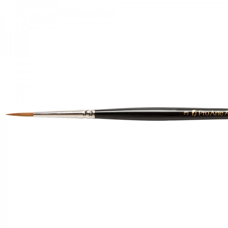 Pro Arte : Prolene : Synthetic Brush : Series 101 : Round : Size 3