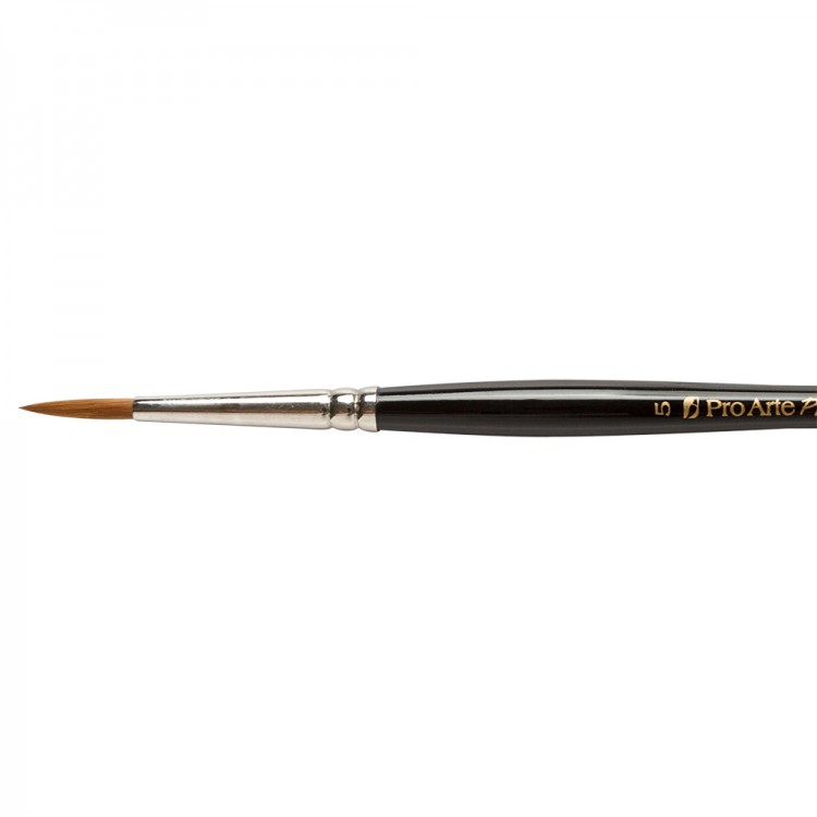 Pro Arte : Prolene : Synthetic Brush : Series 101 : Round : Size 5