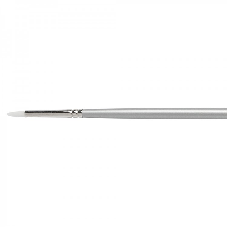 Pro Arte : Sterling Acrylix Long Handled - Filbert S. 201F Size 0