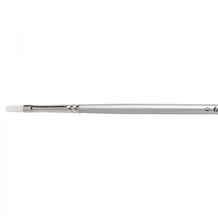 Pro Arte : Sterling Acrylix Long Handled - Long Flat S. 201LF Size 0