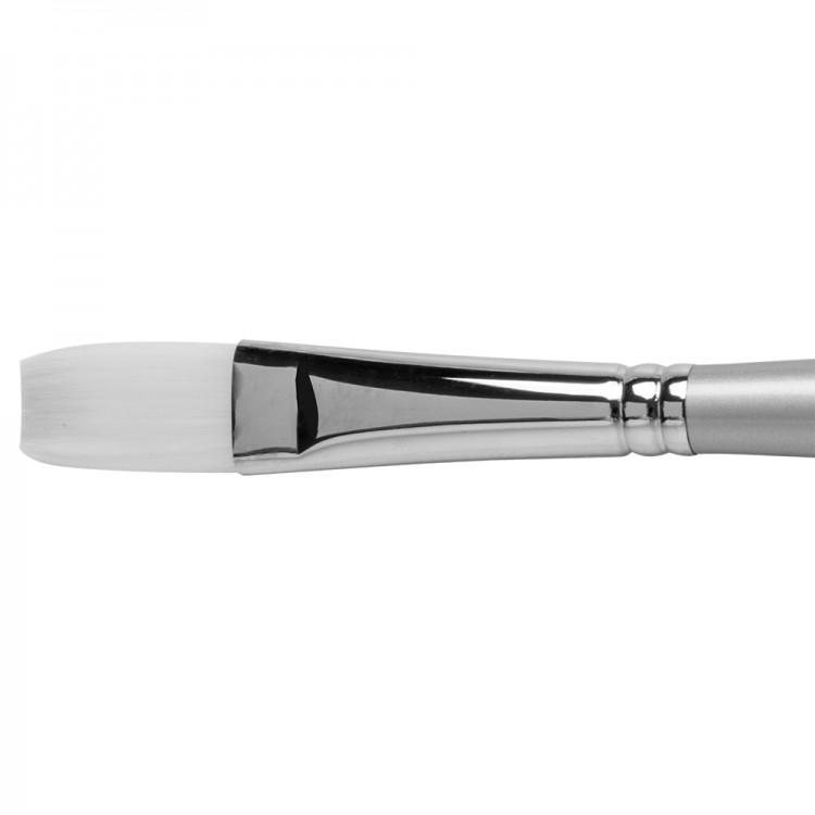 Pro Arte : Sterling Acrylix Long Handled - Long Flat S. 201LF Size 10