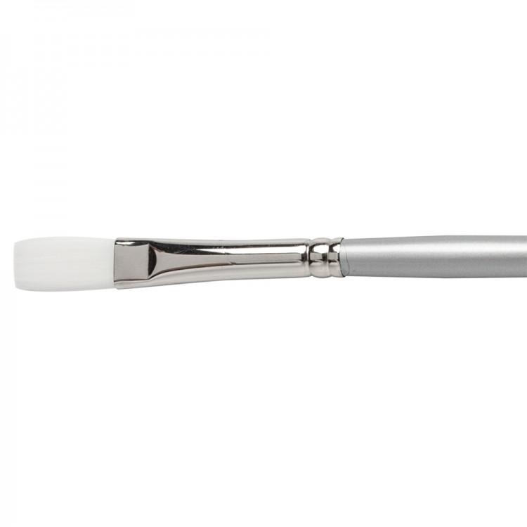 Pro Arte : Sterling Acrylix Long Handled - Long Flat S. 201LF Size 6