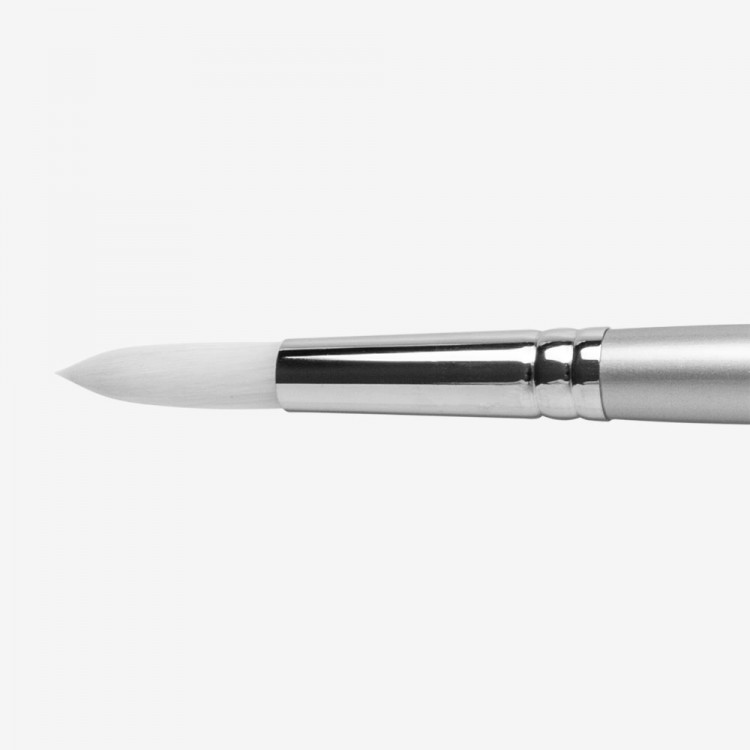 Pro Arte : Sterling Acrylix Long Handled - Round S. 201R Size 10