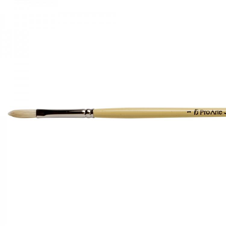 Pro Arte : Series B Hog : Bristle Brush : Filbert : Size 1