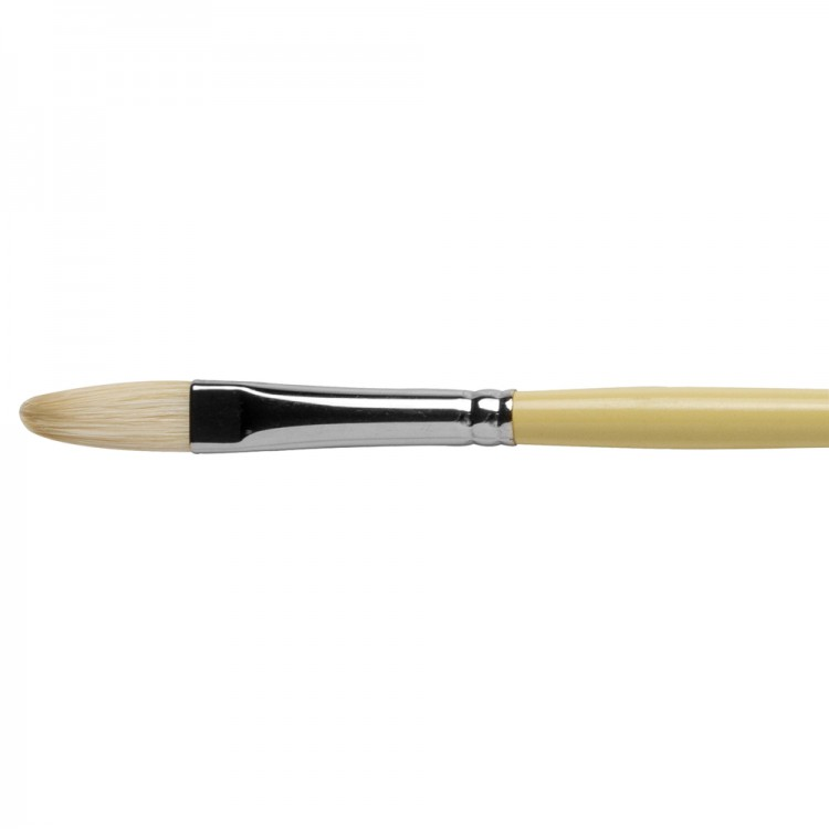 Pro Arte : Series B Hog : Bristle Brush : Filbert : Size 6