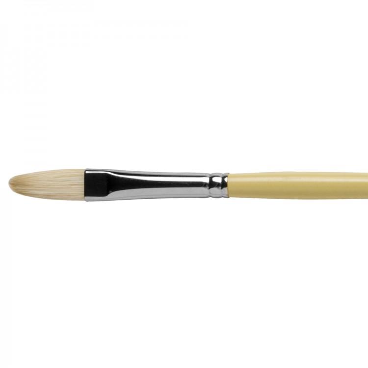 Pro Arte : Series B Hog : Bristle Brush : Filbert : Size 6