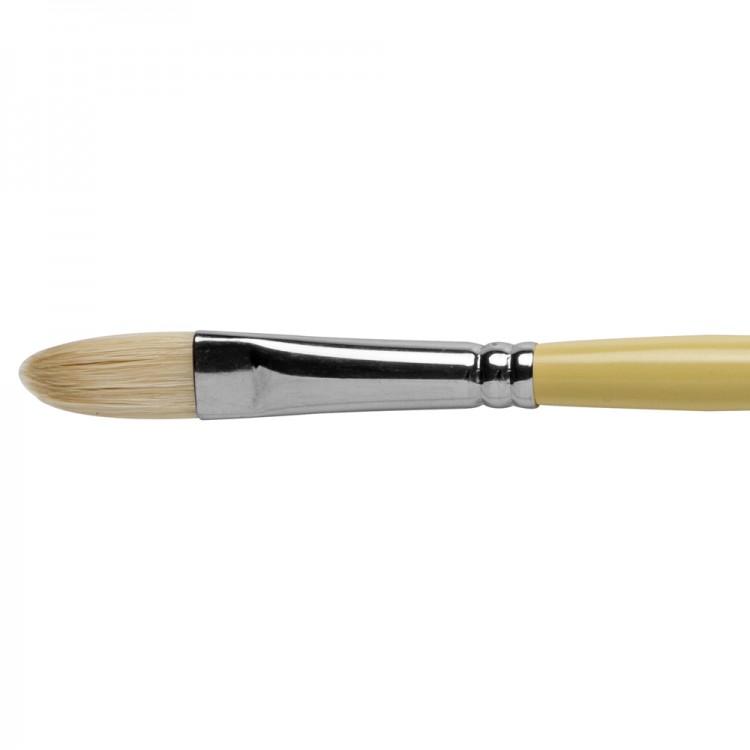 Pro Arte : Series B Hog : Bristle Brush : Filbert : Size 8