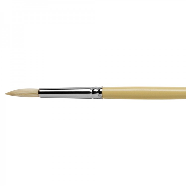 Pro Arte : Series B Hog : Bristle Brush : Round : Size 4