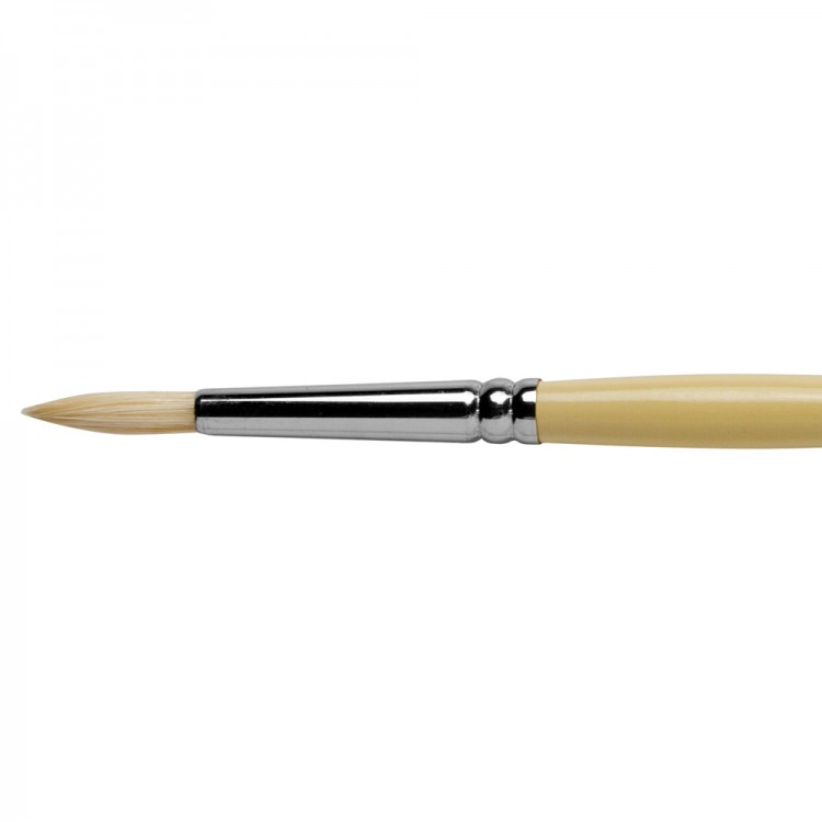 Pro Arte : Series B Hog : Bristle Brush : Round : Size 5