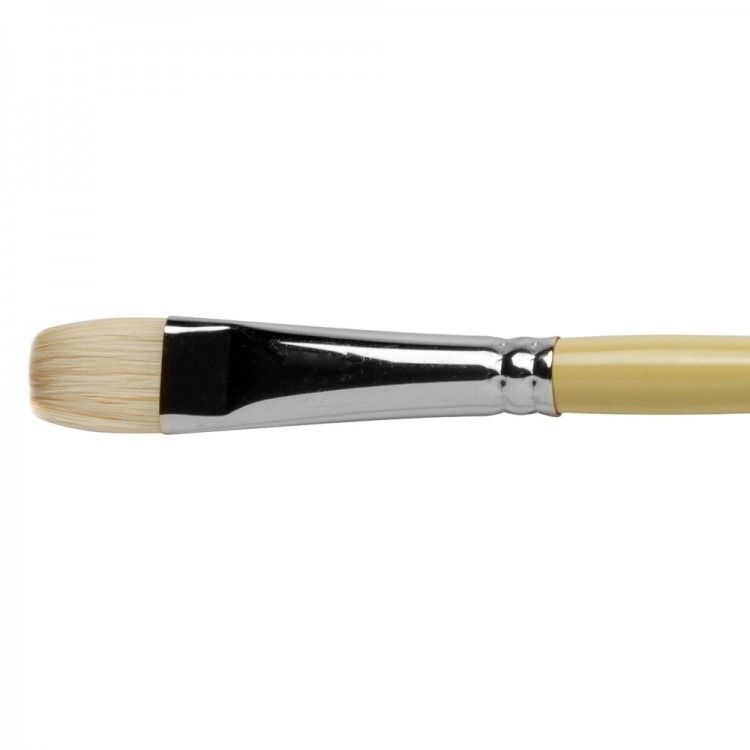 Pro Arte : Series B Hog : Bristle Brush : Short Flat : Size 10