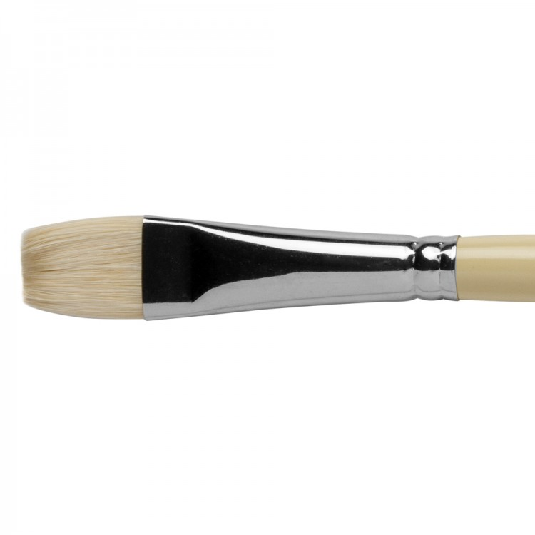 Pro Arte : Series B Hog : Bristle Brush : Short Flat : Size 12