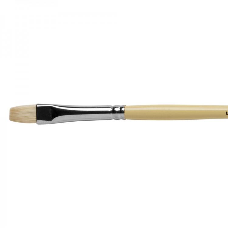 Pro Arte : Series B Hog : Bristle Brush : Short Flat : Size 5