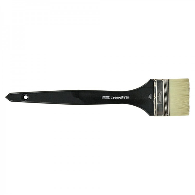 Liquitex Brush MURAL Long Handle VARNISH 3 INCH