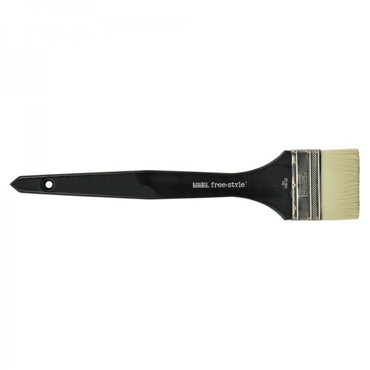 Liquitex Brush MURAL Long Handle VARNISH 3 INCH