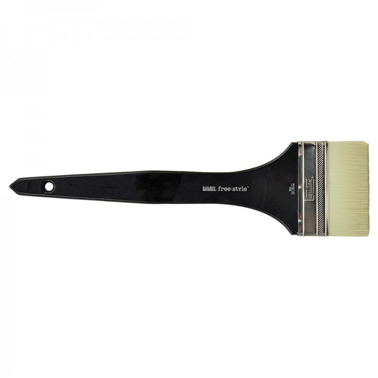 Liquitex Brush MURAL Long Handle VARNISH 4 INCH