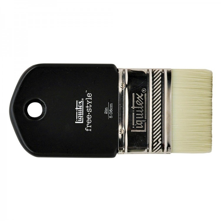 Liquitex Brush MURAL Short Handle STUB VARNISH 2 INCH