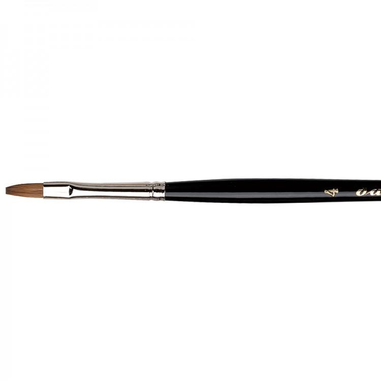 Da Vinci : Maestro : Kolinsky Tobolsky Sable : Series 1301 Flat Size 4
