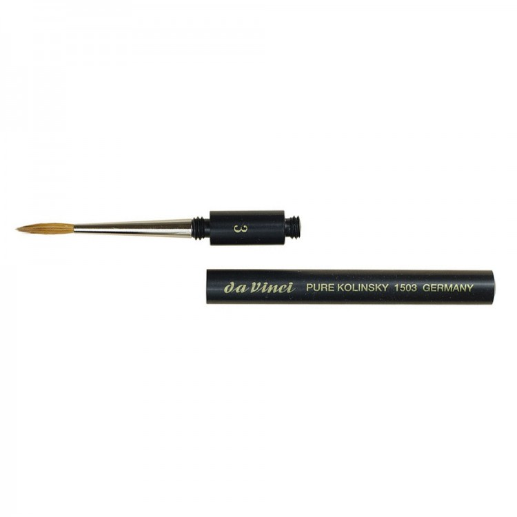 Da Vinci : Kolinsky Sable Pocket Brush : Series 1503 : Size 3