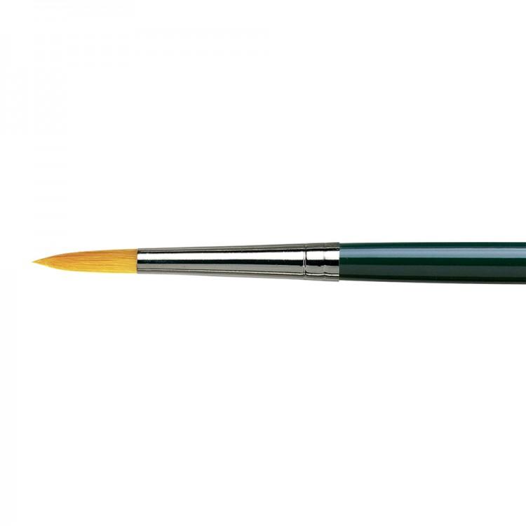 Da Vinci : Nova : Synthetic Hair Brush : Series 1670 : Round : Size 12