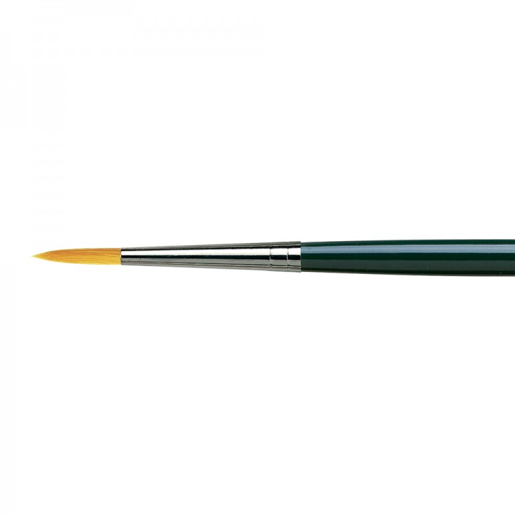 Da Vinci : Nova : Synthetic Hair Brush : Series 1670 : Round : Size 8