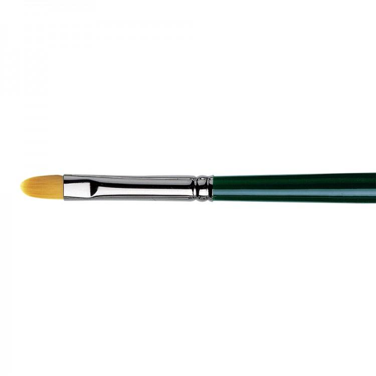 Da Vinci : Nova : Synthetic Hair Brush : Series 1875 : Filbert : Size 8