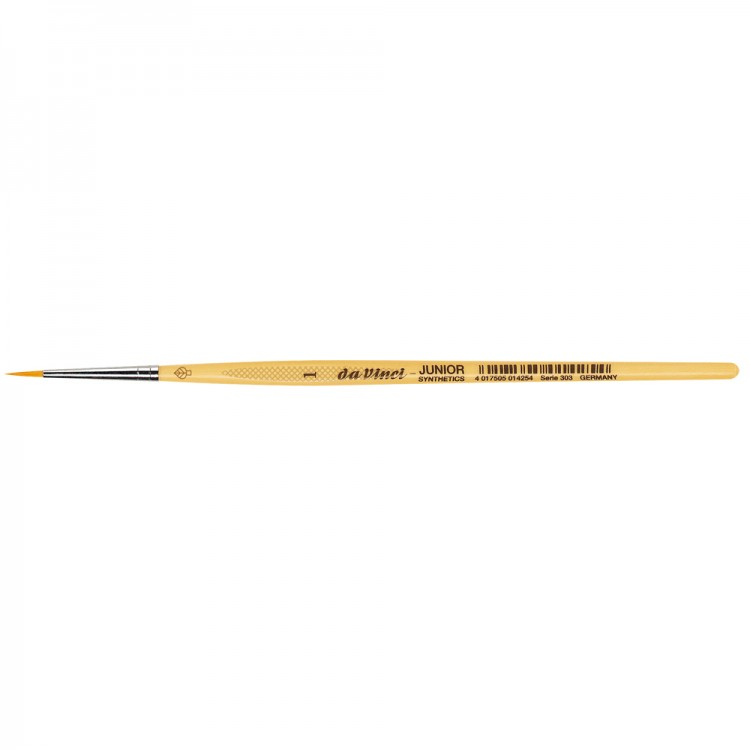 Da Vinci : Junior : Synthetic School Painting Brush : Round : Size 1