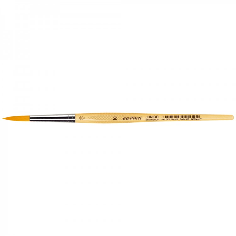Da Vinci : Junior : Synthetic School Painting Brush : Round : Size 10