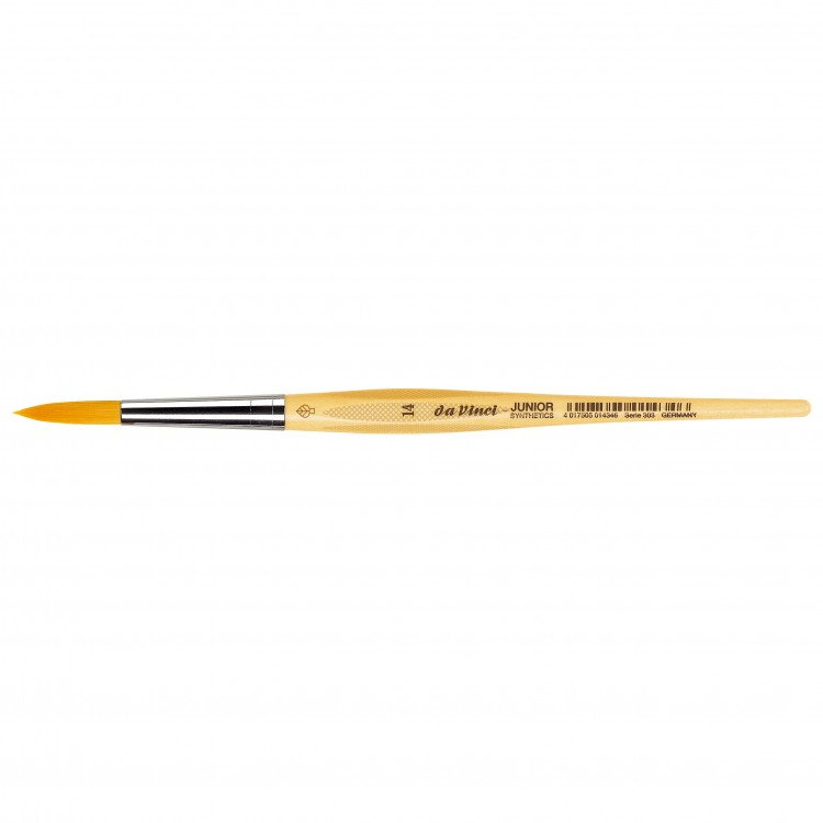 Da Vinci : Junior : Synthetic School Painting Brush : Round : Size 14