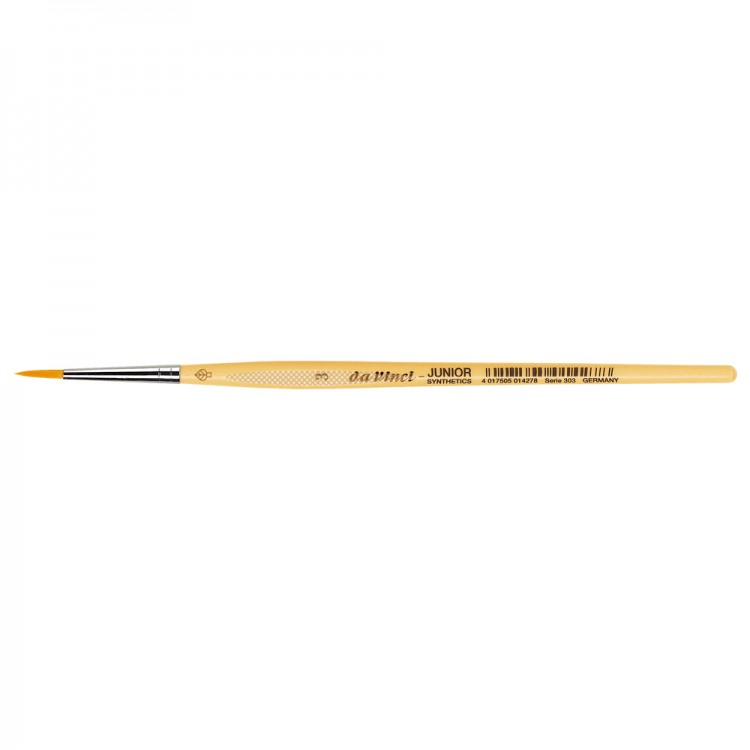 Da Vinci : Junior : Synthetic School Painting Brush : Round : Size 3