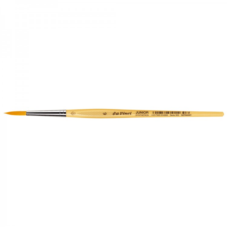 Da Vinci : Junior : Synthetic School Painting Brush : Round : Size 6