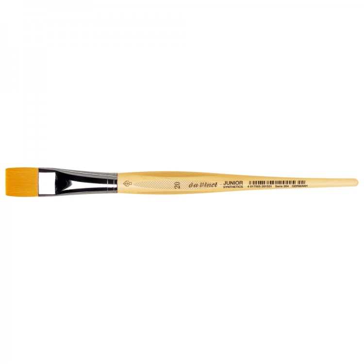 Da Vinci : Junior : Synthetic School Painting Brush : Flat : Size 20