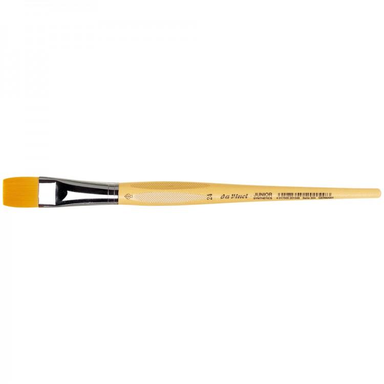 Da Vinci : Junior : Synthetic School Painting Brush : Flat : Size 24