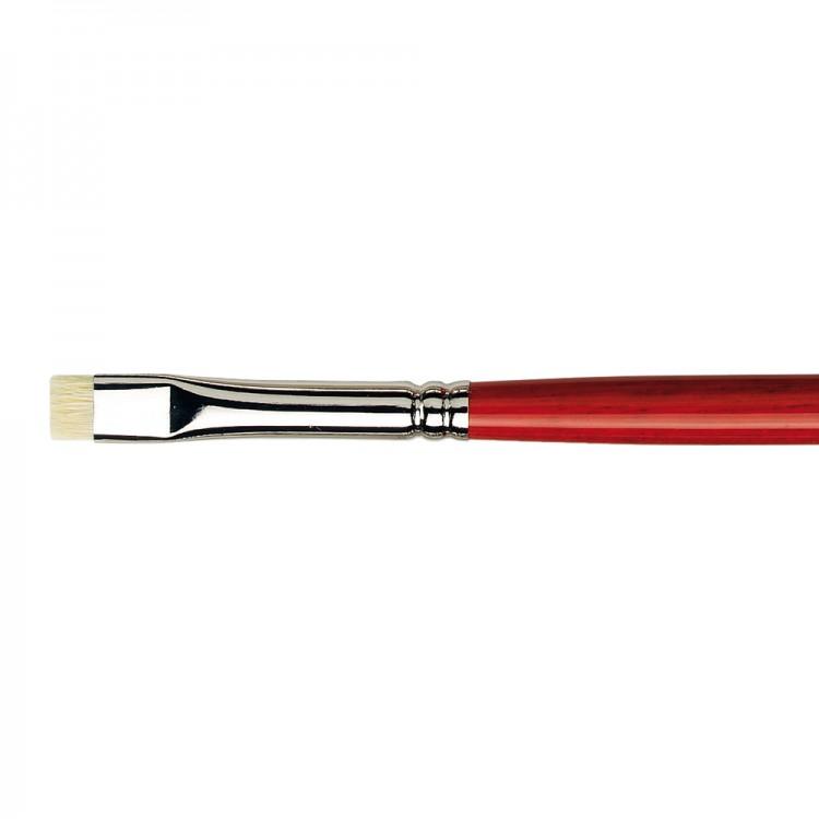 Da Vinci : Maestro 2 : Bristle Brush : Series 7223 : Extra Short Flat : Size 8