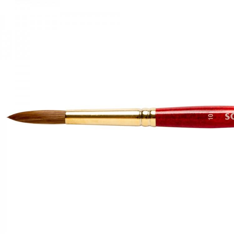 Winsor & Newton : Sceptre Gold Brush : Series 101 : Round No 10