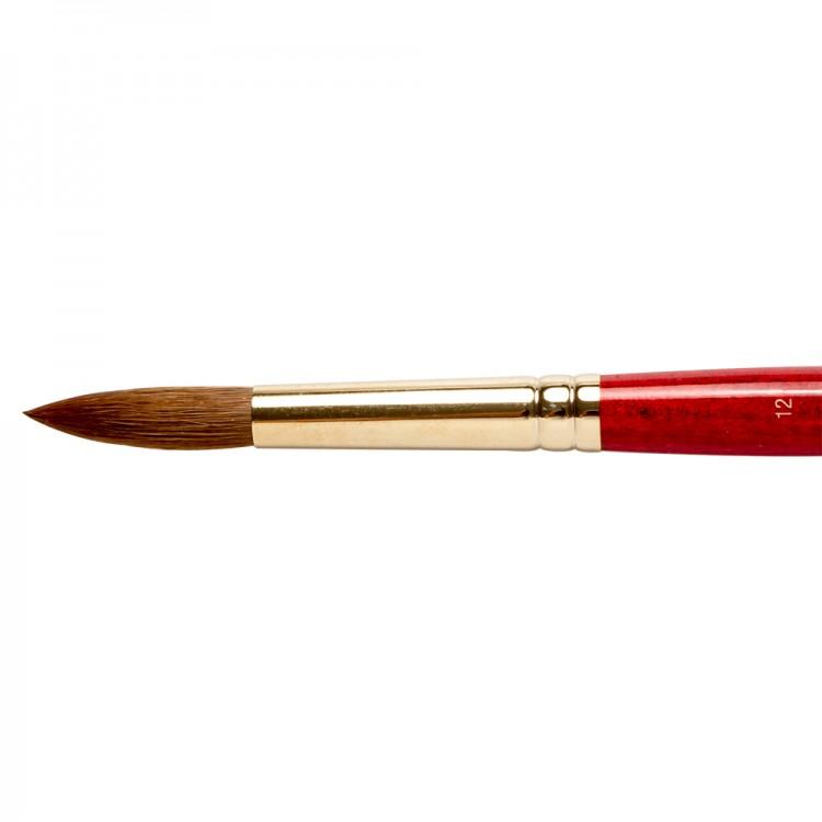 Winsor & Newton : Sceptre Gold Brush : Series 101 : Round No 12