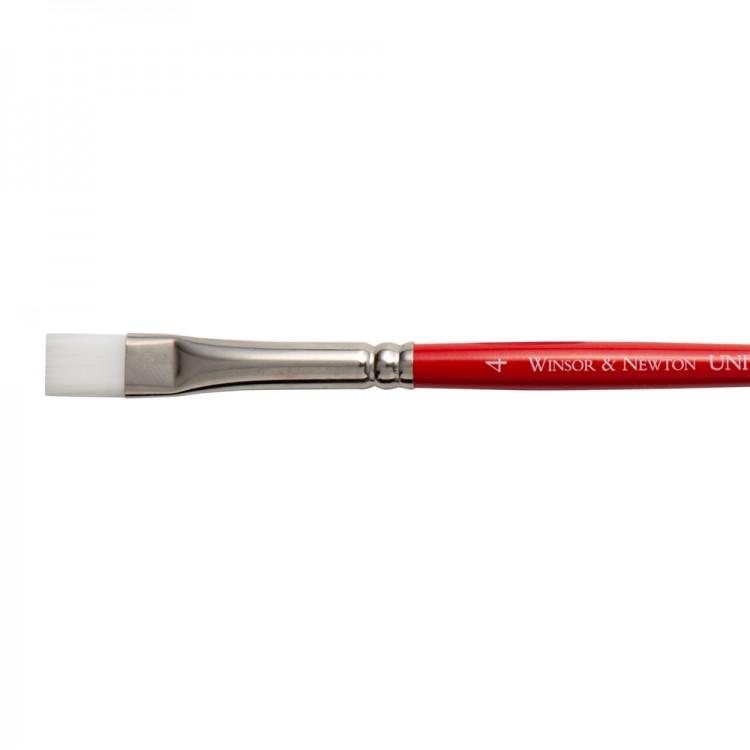 Winsor & Newton : University Brush : Series 234 : Short Flat : No 4