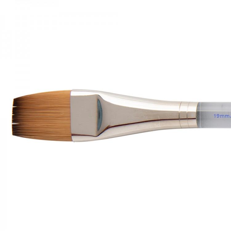 W&N : Cotman Brush : Series 777 : One Stroke Clear : 3/4in