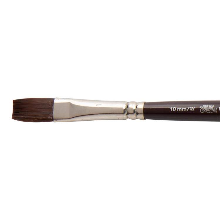 W&N : Galeria Brush : Short Handled : One-Stroke : 10mm